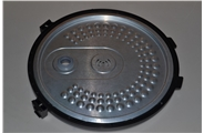 LMC-402-6 fixed aluminum lid фіксована алюмінієва кришка мультиварки